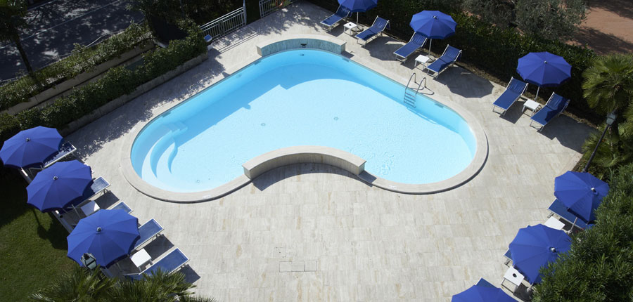 Chalet Hotel Galeazzi, Gardone Riviera, Lake Garda, Italy - Pool Overview.jpg